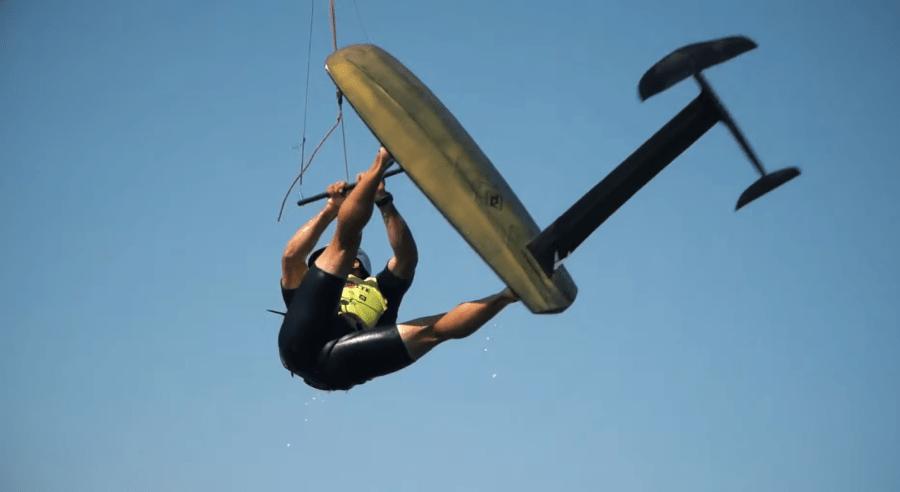 Alex Climent Kite Surf CKSC Pantano de Alarcón Fórmula, Spain Series 2020.