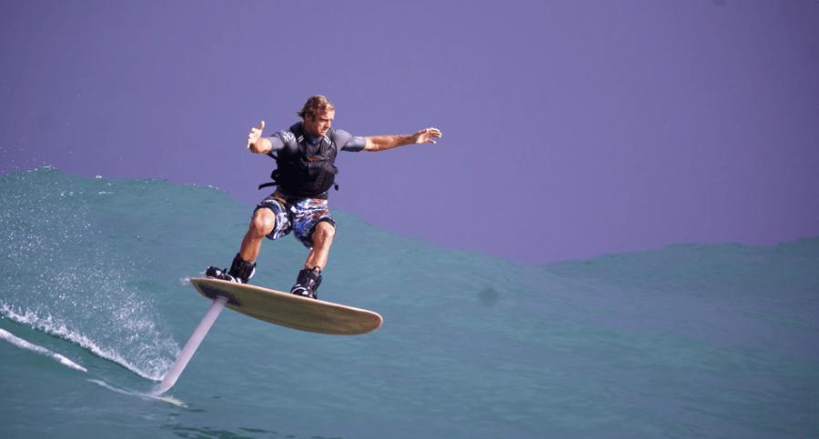 Pioneros del surf foil, Laird Hamilton