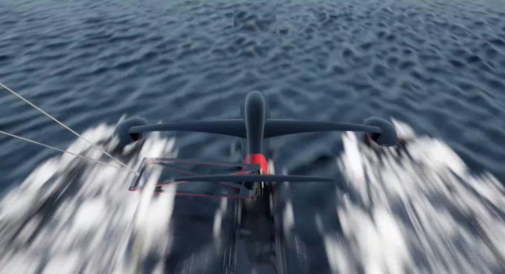 Récord mundial de velocidad con vela
