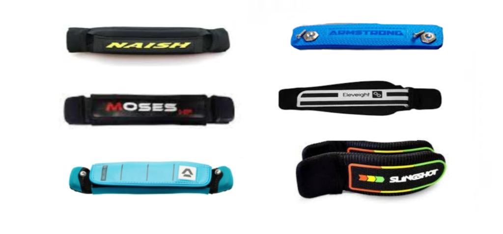 Varios modelos de straps para hydrofoil (1)