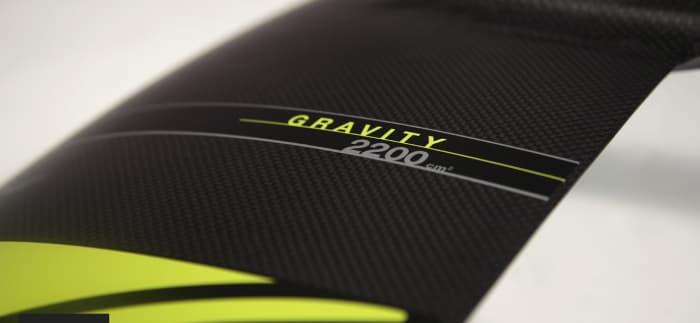 ala delantera F ONE GRAVITY 2200