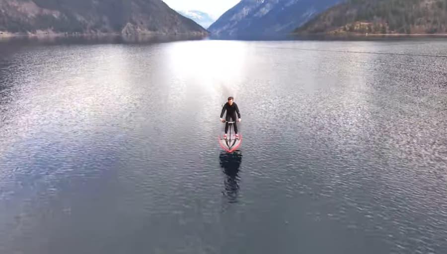 hydroflyer, el nuevo efoil, primeras impresiones