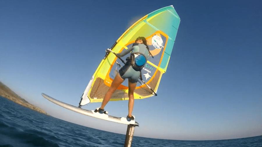 hydrofoil windsurf, Rider maxa