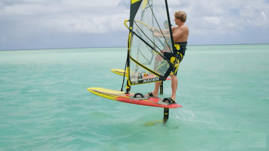 hydrofoil windsurf con Kai Lenny & Robby Naish.