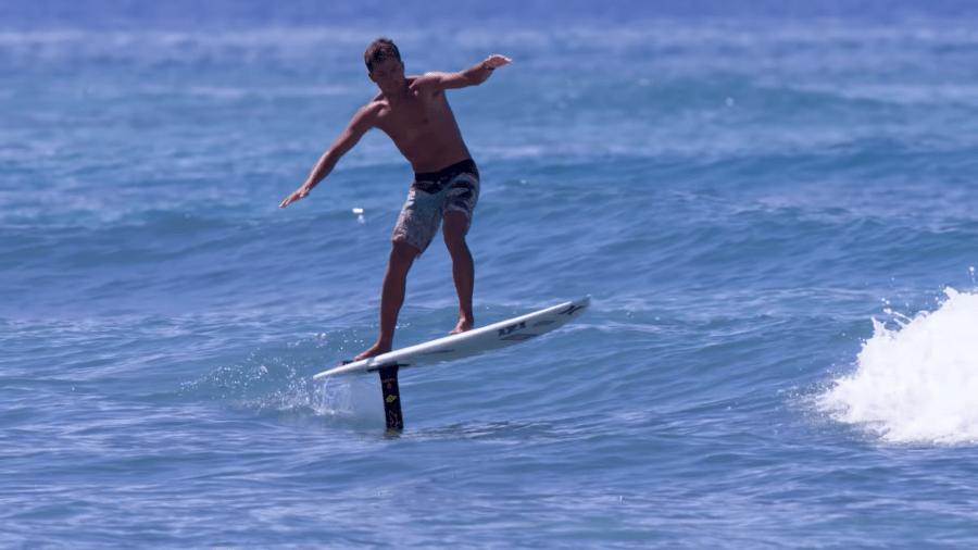 inicios del surf foil con, Kai Lenny