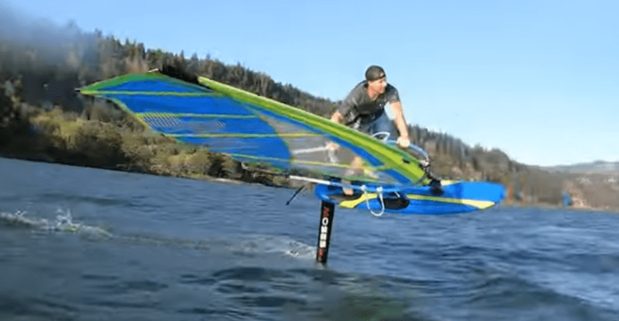 winfsurf hydrofoil radical con Sailworks