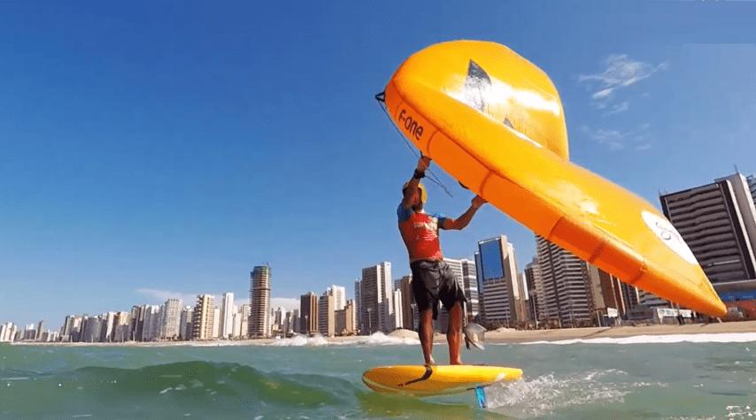 wingfoil en SuperFoil Brasil 2020.